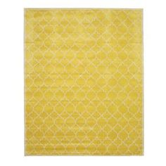 Durrant Hand Tufted Yellow Area Rug