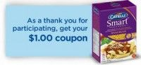 Save $1 on Catelli Smart Pasta - Hidden Websaver