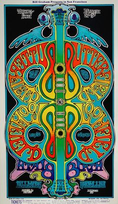 The Paul Butterfield Blues Band Poster - Rock posters, concert posters, and… Rock Posters, Hippie Posters, Band Posters, Film Posters, Poster Art, Retro Poster, Kunst Poster, Gig Poster, Art Vintage