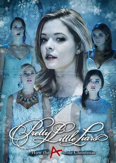 How gorgeous is this Christmas-inspired fan art by Inês Ferreira?! | Pretty Little Liars