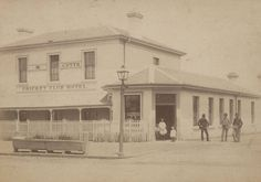 Cricket club hotel, Mt Alexander Rd, Flemington Melbourne, circa The building still stands today as a Vietnamese community center. The building itself dates to the Melbourne Victoria, Victoria Australia, Victorian Architecture, Historical Architecture, Ascot Vale, Melbourne Suburbs, Beautiful Park, Old Buildings, Historical Pictures
