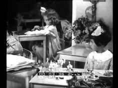 Wonderful Video from  06/19/1935 of the Children's House Montessori adjacent to the Royal School of Science ; view of the building of the children's home ; some moments of teaching lessons with the Montessori method