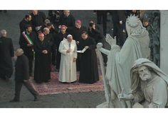 Oración del Papa Francisco a MarÍa Inmaculada, ante su monumento en la Plaza de España de Roma, lunes 8 de diciembre de 2014
