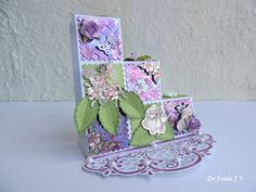 Cards ,Crafts ,Kids Projects: Flower Fairy Step Card