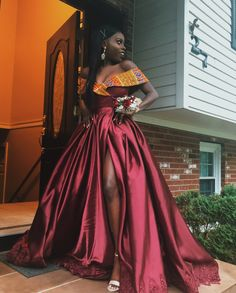 African prom dress,wedding reception dress,African party dresses,Ankara Clothing for women Hochzeit 💒 African Formal Dress, African Party Dresses, African Wedding Dress, African Dresses For Women, African Print Dresses, African Print Fashion, African Attire, African Fashion Dresses, Dress Wedding