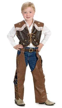 Round Em Up Cowboy Costume - Child Medium:Amazon:Toys & Games