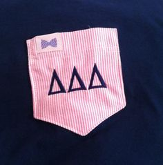 tri delta + the frat collection = ♡