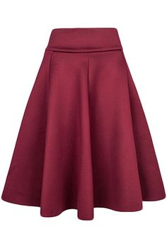 Elegant Solid Color High Waist Bubble Skirt | victoriaswing
