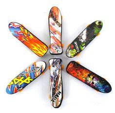 Novelty decompression toy finger skateboard#skateboard
