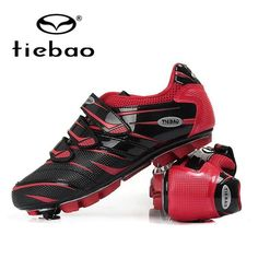 Hot Tiebao Mountain biking shoes Self-Locking Athletic Shoes Unisex Outdoor Sport MTB Cycling Shoes Cycling sport