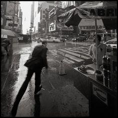 Rain in NYC by Zamario