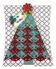 Be Merry Nordic Card Set Project Idea  #scrapbooking #Christmas