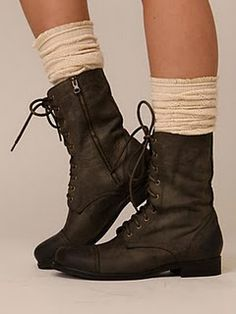 How To Wear Combat Boots with dresses | This year's winter fashion is obviously filled with boots, sweaters ...