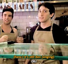 Part two of Broadway actors forgetting their lyrics. This was so funny!  ben fankhauser | Tumblr