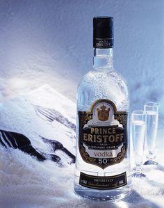 Vodka Prince Eristoff. Memento #Linea