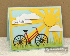 Joy Ride Handmade Card van banders03 op Etsy