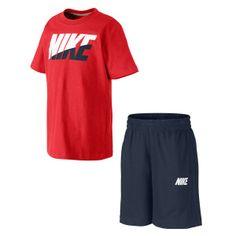 Vipçocuk | Nike Mod Sp Set Çocuk T-Shirt Short İkili Set 589784659