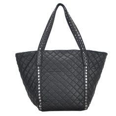 Shop for Mechaly Women's Ivy Black Vegan Leather Tote Handbag. Get free delivery On EVERYTHING* Overstock - Your Online Handbags Outlet Store! Vegan Leather Jacket, Black Leather Handbags, Handbags Online, Tote Handbags, Tote Bags, Fashion Bags, Back To School, Purse, Shoulder Bag