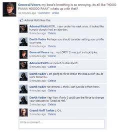 Star Wars Status Updates
