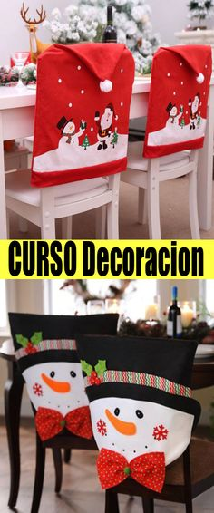 All Details You Need to Know About Home Decoration - Modern Decor Crafts, Christmas Crafts, Christmas Decorations, Holiday Decor, Home Decor, Hairpin Lace Patterns, Ideas Para Fiestas, Chair Covers, Holidays And Events