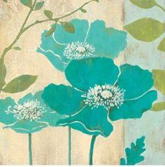 Blue Poppy art print by Stefania Ferri by gloriaU