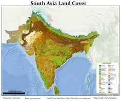 Maps on the Web - South Asia Land Cover