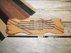 Vintage Double Kalimba Calimba Thumb Harp South Aftica Hand Made Musical Instrument by EvenTheKitchenSinkOH on Etsy