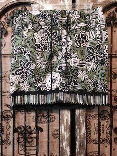 Ann Taylor LOFT Short Hawaiian Style 100% Cotton Skirt SZ 10 #AnnTaylorLOFT #HawaiianStyle