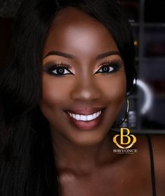 58 Most Gorgeous Makeup Inspirational Hack 💕 for Dark Skin in Prom and Wedding 😘 - Page 8 of 57 - Diaror Diary Dark Skin Makeup, Dark Skin Beauty, Black Beauty, Makeup Eyebrows, Makeup Geek, Natural Makeup, Eye Makeup, Black Girl Makeup, Girls Makeup