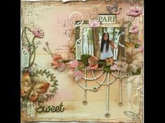 The Dusty Attic Blog: Sweet - Gabrielle Pollacco - Video Tutorial and a bonus project