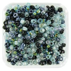 Bead Treasures 10/0 Northern Lights Seed Bead Mix | Shop Hobby Lobby ( Bought them, Love them!)