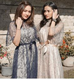 The 10 Best Outfit Ideas Today (with Pictures) - Inspired from Miura Chan. Kebaya Modern Hijab, Dress Brokat Modern, Model Kebaya Modern, Dress Brukat, Hijab Dress Party, Batik Dress, Dress Outfits, Kebaya Lace, Kebaya Dress