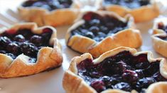 Mini Blueberry Galettes Recipe : Ree Drummond : Food Network
