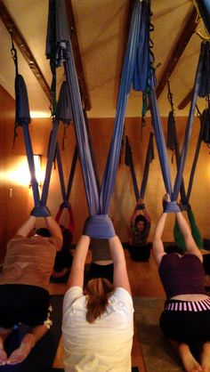 super popular fd616 41485 Aerial yoga class