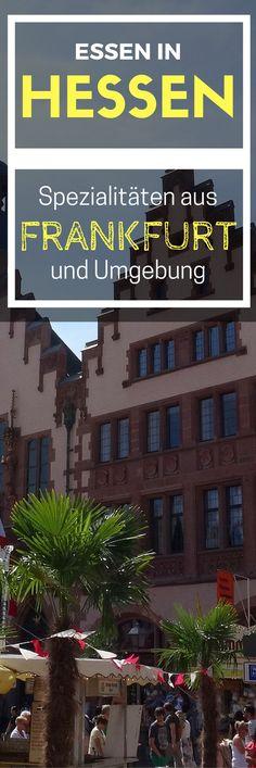 Essen in Hessen: Spezialitäten aus Frankfurt und Umgebung || Deutschland || Germany