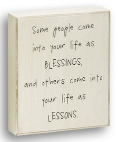 Another great find on #zulily! 'Some People' Box Sign #zulilyfinds