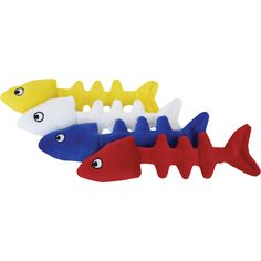 Swag/Loopies Loopies 7-inch Floppy Fish Bones Organic Catnip Toy