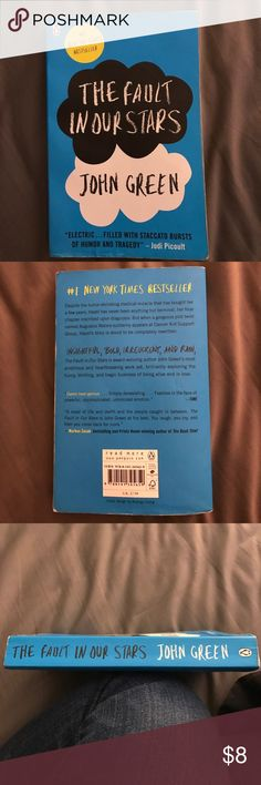 """The Fault in Our Stars Paperback book """"The Fault in Our Stars"""" by John Green. Has been read before but still in great condition. No rips or pages missing. Other"""