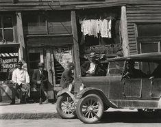 "WALKER EVANS, ""Sidewalk In Mississippi, 1936"", Vicksburg, 1936, silver print, printed later, 8"" x 9 15/16"""