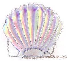 Shell Mermaid - Holográfica