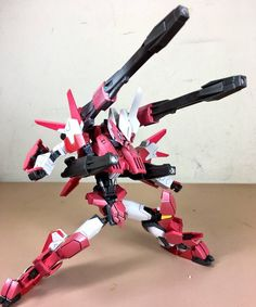 Gundam Flauros, Gundam Mobile Suit, Custom Gundam, Super Robot, Gundam Model, Model Building, Diorama, Lego, Wings