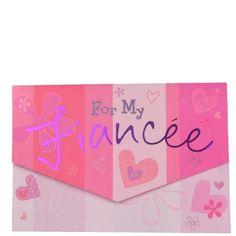 My Fiancee Greeting Card