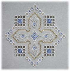 Hardanger designs by Mabel Figworthy's Fancies - Berrington Hall (I)