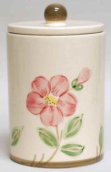 Franciscan Desert Rose (USA Backstamp) Tea Canister & Lid | Antiques ...