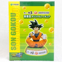 Super RARE! Dragon Ball Z Son Gokou Itoen 30th Limited Figure JAPAN ANIME