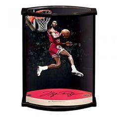 b1d28e39f730 Michael Jordan UDA Autographed Chicago Bulls Game Used Floor Piece In