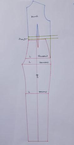 Vogue Pattern Misses' Open-Back, Belted Jumpsuit Dress Sewing Patterns, Sewing Patterns Free, Sewing Tutorials, Clothing Patterns, Sewing Pants, Sewing Clothes, Diy Clothes, Techniques Couture, Sewing Techniques
