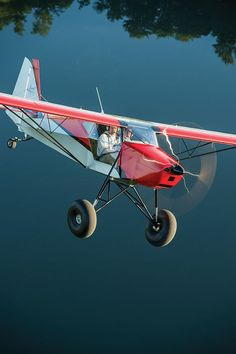 KITPLANES The Independent Voice for Homebuilt Aviation – Just Aircraft's Super… - Aircraft design Stol Aircraft, Vintage Airplanes, Vintage Cars, Small Airplanes, Vintage Stuff, Kit Planes, Light Sport Aircraft, Photo Avion, Bush Pilot