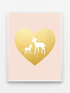 Pink and Gold Nursery Decor Pink Gold Nursery Pink