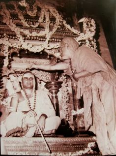 Bharathi teertha maha swamigal